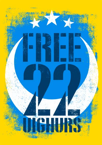 FREE 22 UIGHURS