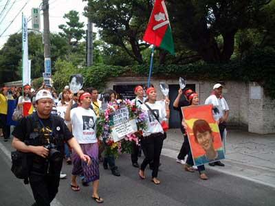 8888ビルマ民主化デモ