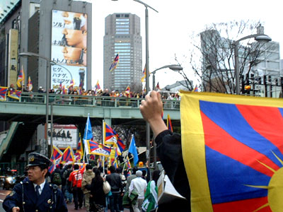 チベット民族蜂起50周年ピースマーチ@渋谷