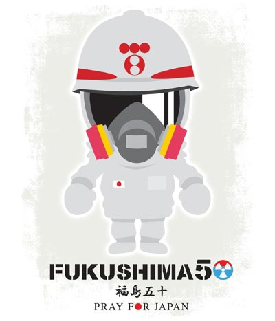 FUKUSHIMA50! Pray for Japan! Nuclear workers 福島50 原発作業員 東京電力!