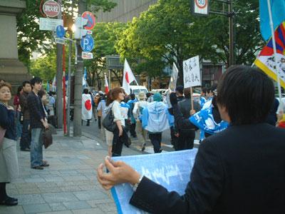 5月2日。南モンゴルデモ行進