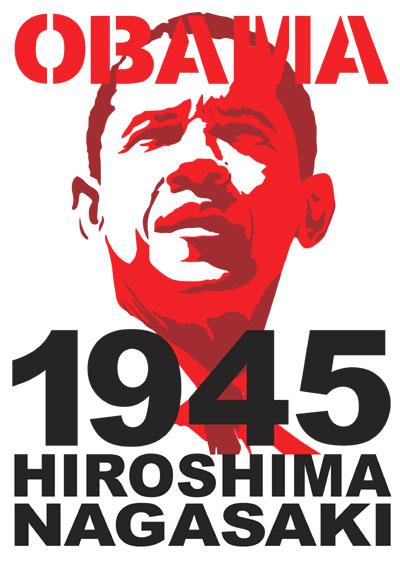 OBAMA 1945 HIROSHIMA NAGASAKI