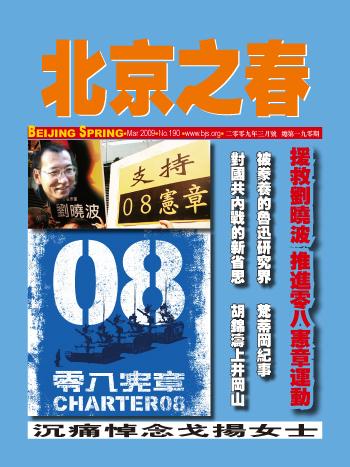 北京の春 08憲章